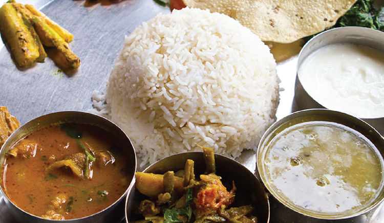 A look at some of the city's myriad thalis